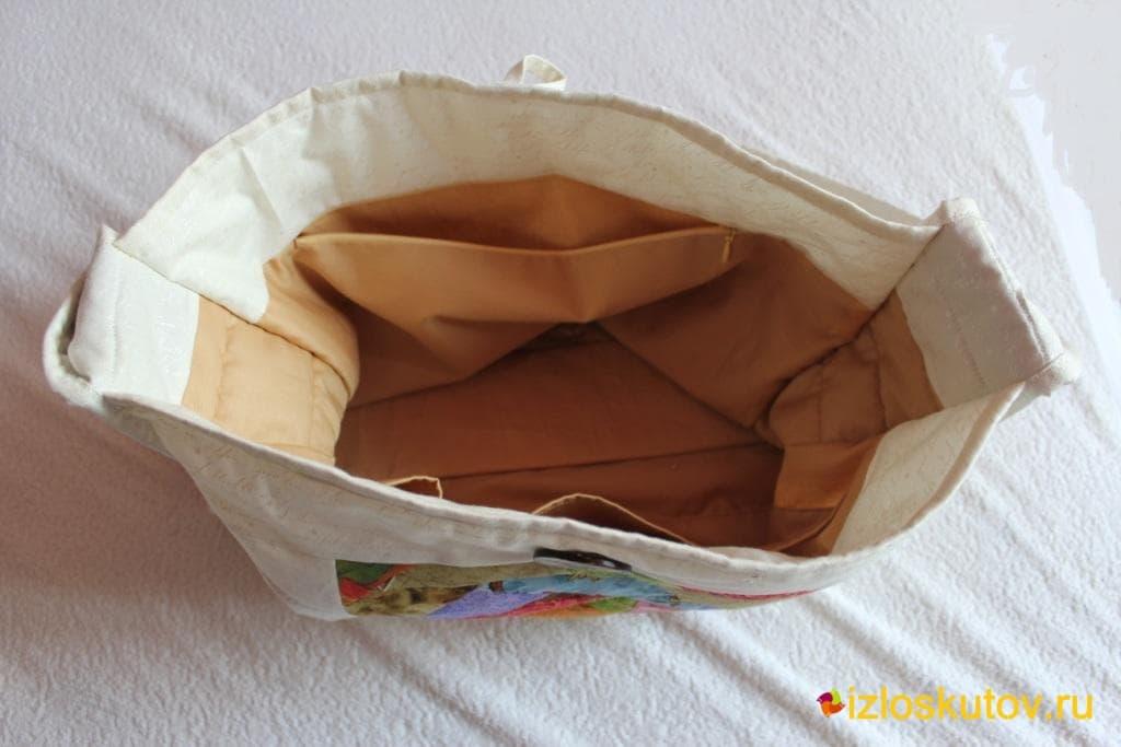 """Лоскутная сумка """"Мармеладка"""" № 1043.2"""