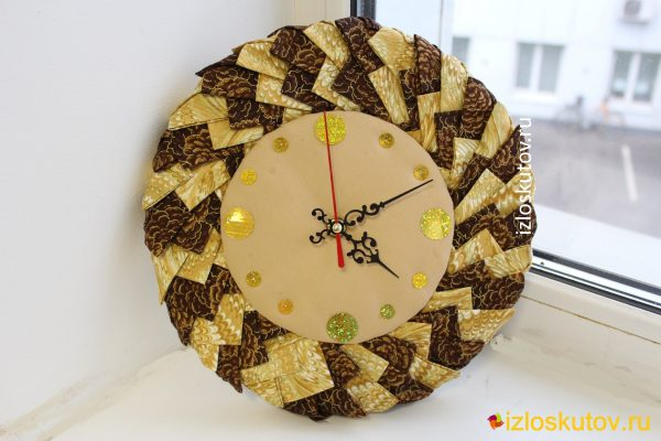 """Часы настенные """"Злат"""" № 1080"""