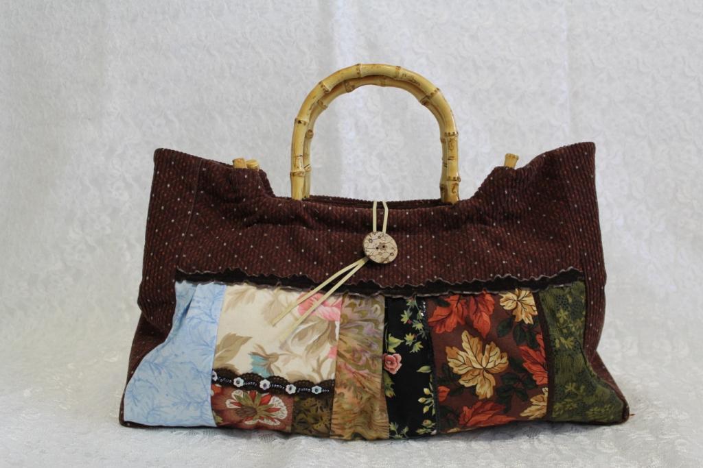 "Летняя лоскутная сумка ""Англия"" № 203"