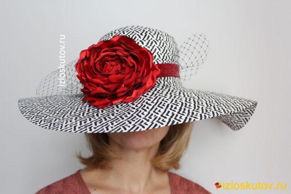 "Шляпа ""Испанская роза"" № 1213"