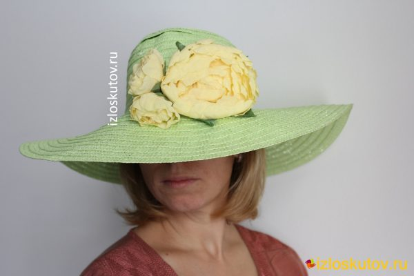 "Шляпа ""Утренняя беседа"" № 1215"