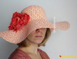 "Шляпа ""Хвост попугая"" № 1216"