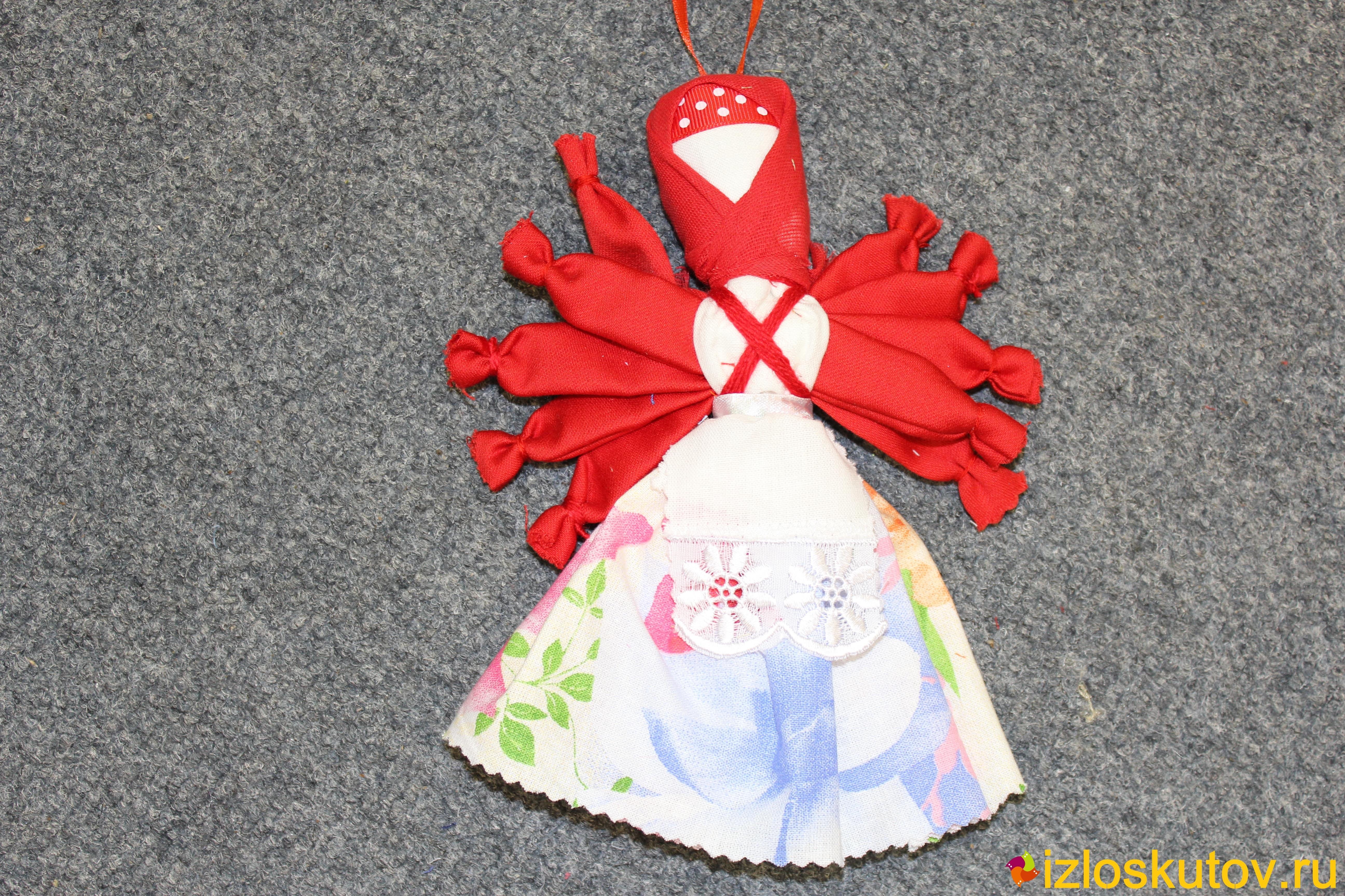 "Кукла ""Десятиручка светлая"" № 1494"