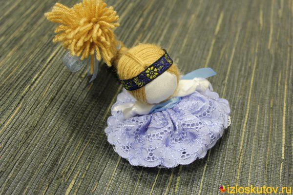"""Кукла """"Счастье в голубом"""" № 1499"""