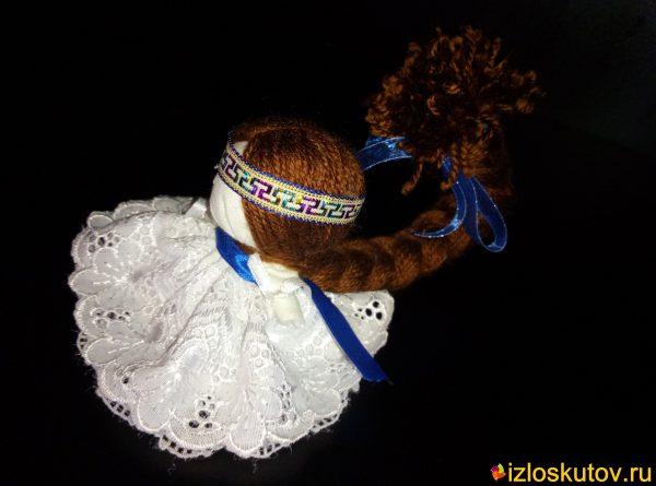"""Кукла """"Счастье в белом"""" № 1515"""