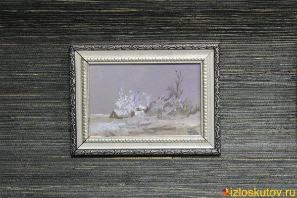 """Картина маслом """"Зима"""" № 285"""