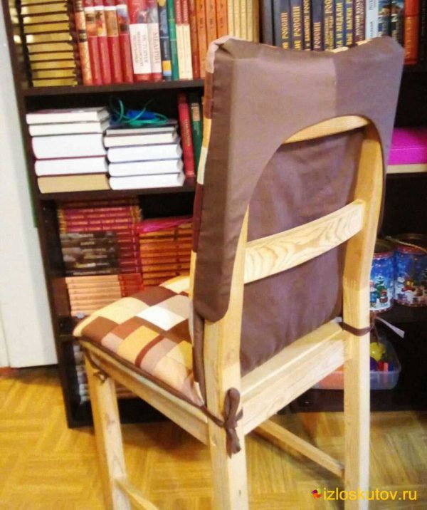 "Чехол на стул ""Суфле в шоколаде"" № 664"