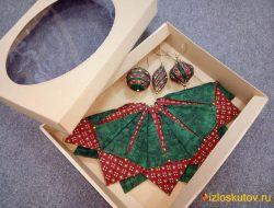 """Новогодняя салфетка и игрушки в комплекте """"Маркус"""" № 613"""