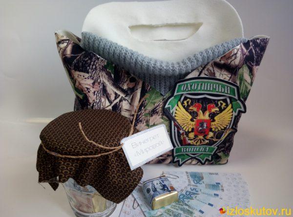 """Мужской подарок """"Охотничьи войска"""" № 534"""